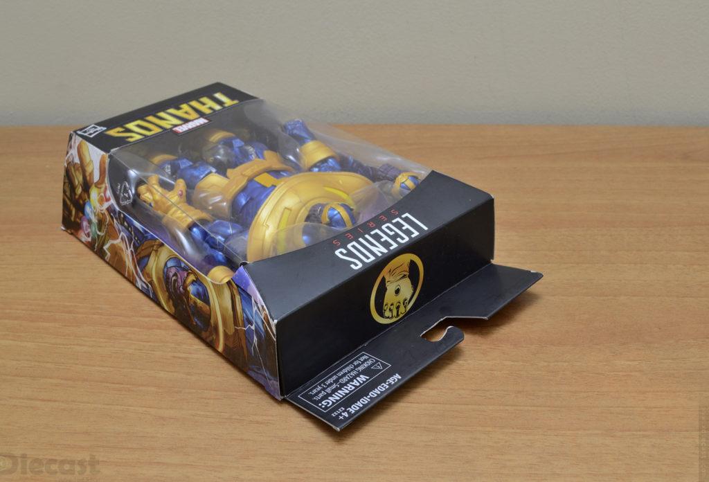 Marvel Legends Series Thanos Figurine - Box Graphics
