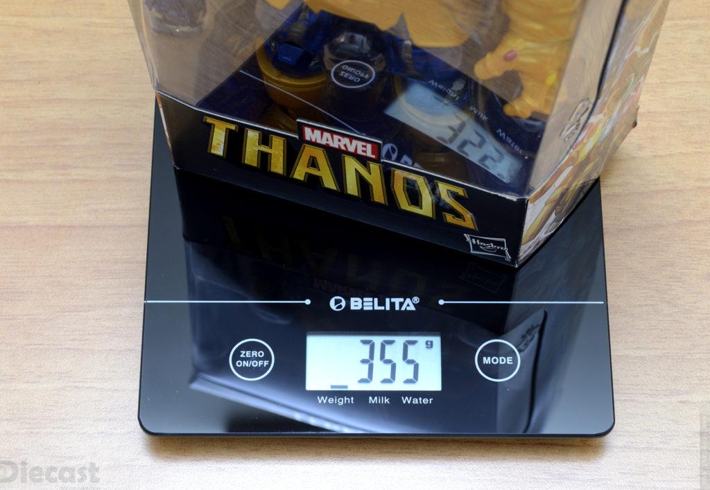 Marvel Legends Series Thanos Figurine - Weight