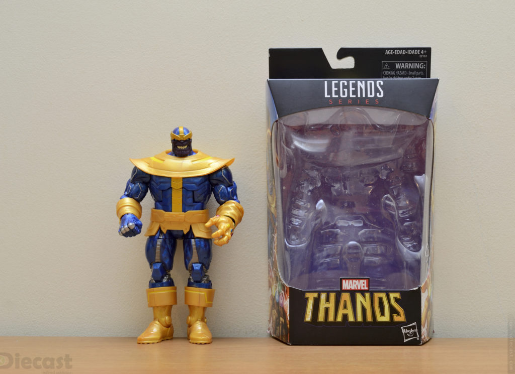 Marvel Legends Series Thanos Figurine - Unboxed