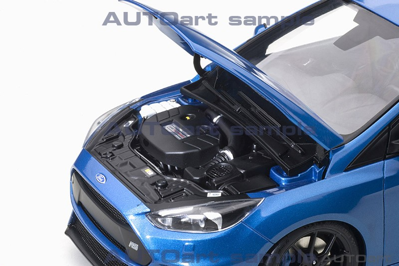 AUTOart 1:18 Ford Focus RS Nitrous Blue - Engine
