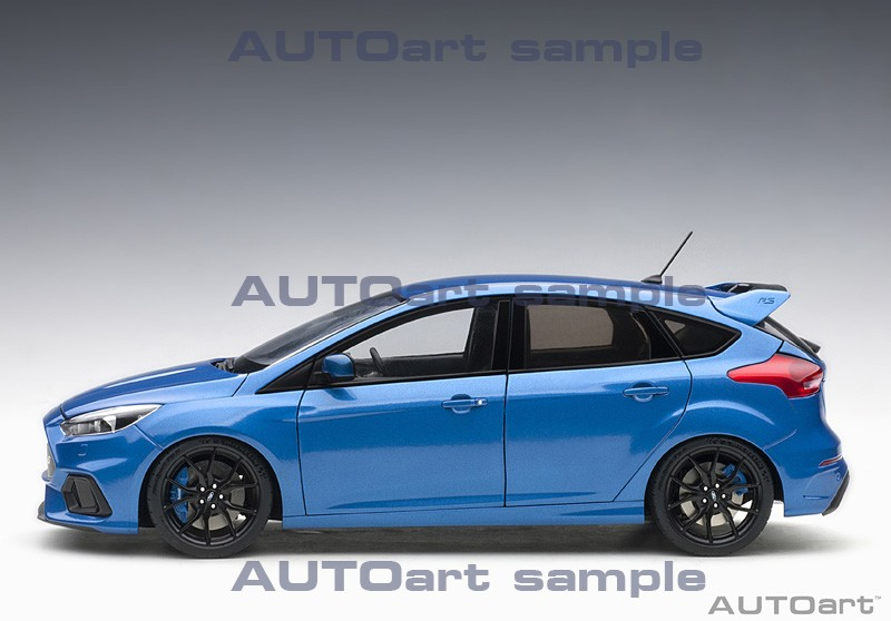 AUTOart 1:18 Ford Focus RS Nitrous Blue - Profile