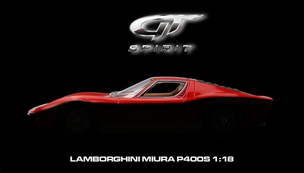 GT Spirit Lamborghini Miura P400s 1:18 Coming Soon