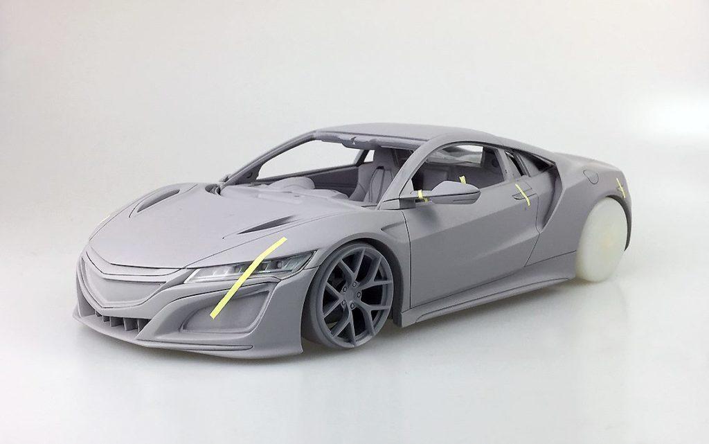 OneModel Prototype 1:18 2017 Honda Acura  NSX - Front
