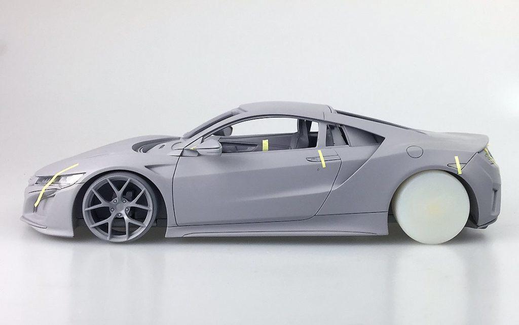 OneModel Prototype 1:18 2017 Honda Acura  NSX - Profile