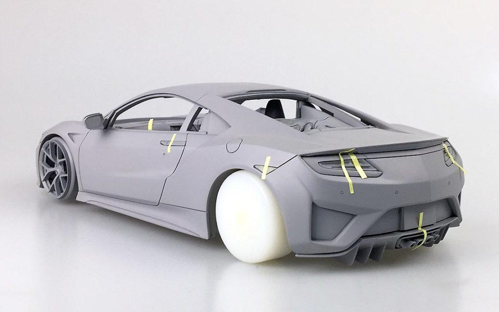 OneModel Prototype 1:18 2017 Honda Acura  NSX - Rear