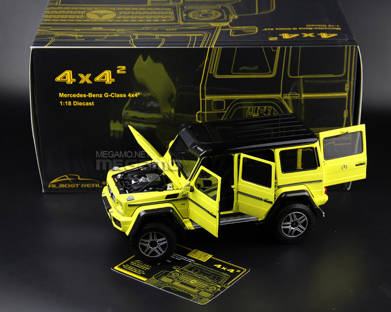 Almost Real 1:18 Mercedes Benz G500 4x4 Squared - Package