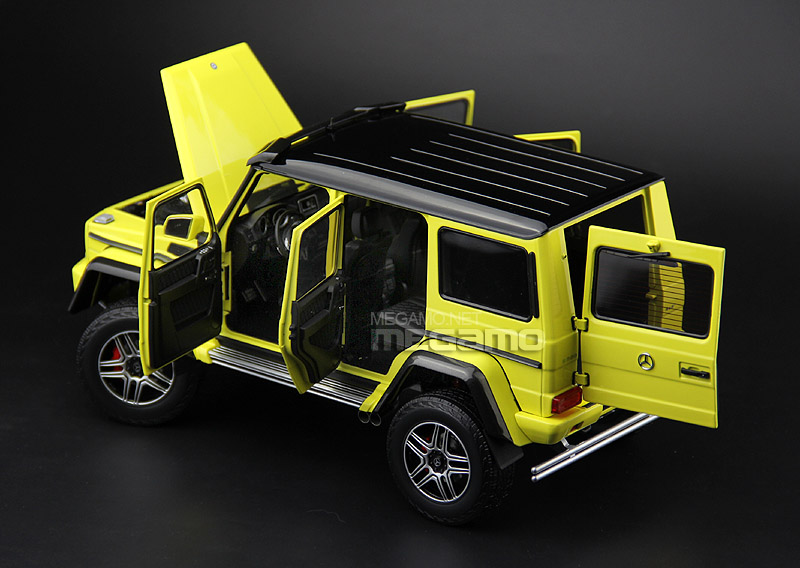 Almost Real 1:18 Mercedes Benz G500 4x4 Squared - Doors