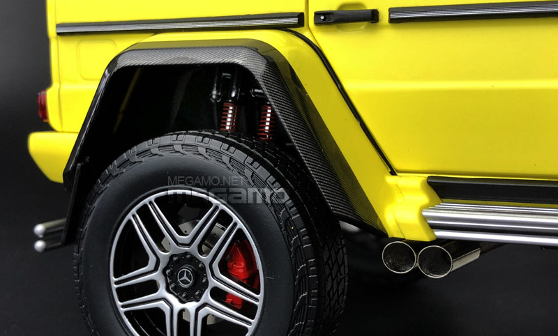 Almost Real 1:18 Mercedes Benz G500 4x4 Squared - CloseUp