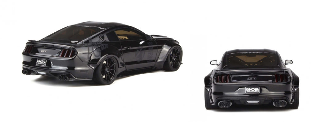 GT Spirit 1:18 Ford Mustang Toshi - Rear