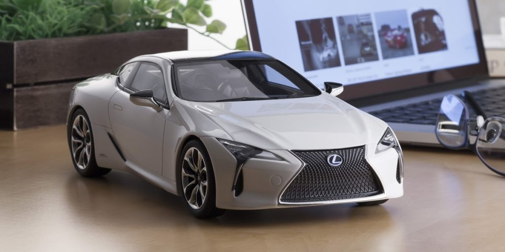 Kyosho Samurai Series 1:18 Lexus LC500 Coming Soon in White and Red