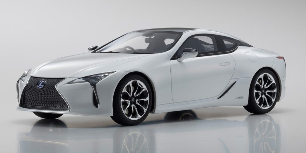 Kyosho 1:18 Resin Samurai - Lexus LC500 - Front