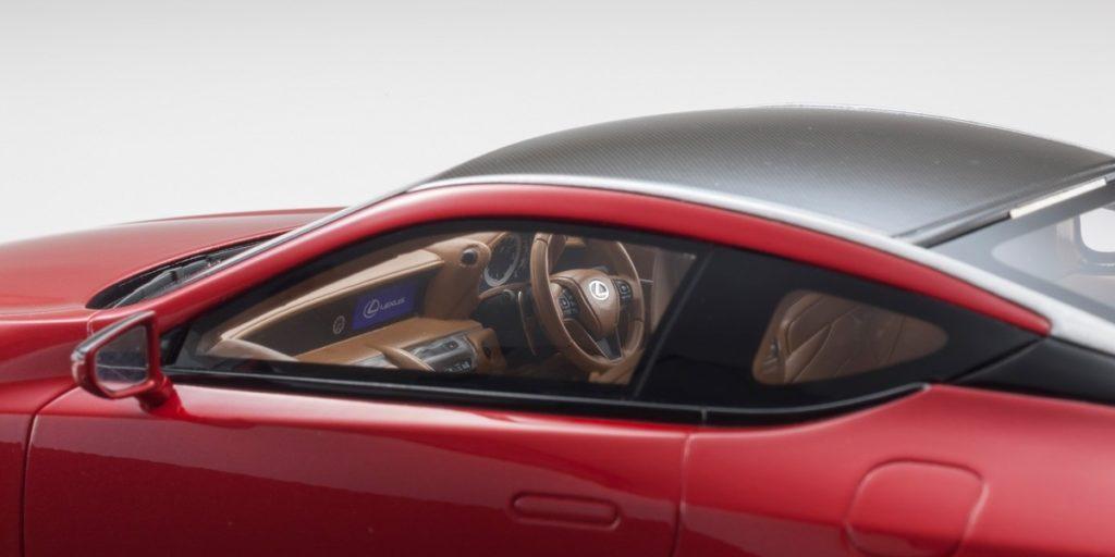 Kyosho 1:18 Resin Samurai - Lexus LC500 - Interior