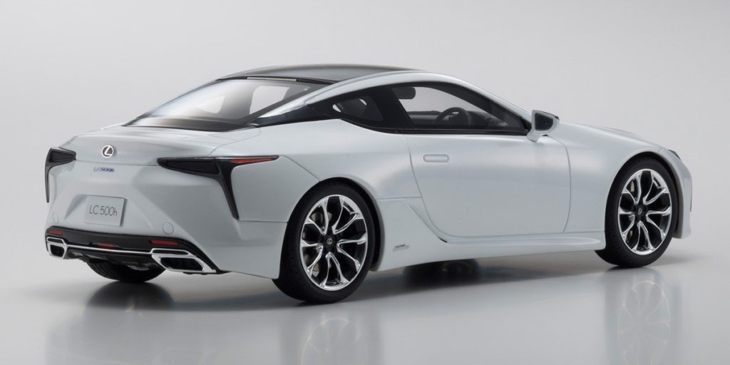 Kyosho 1:18 Resin Samurai - Lexus LC500 - Rear