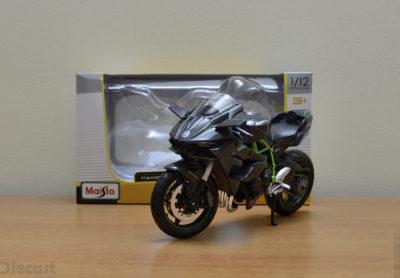 Maisto 1:12 Kawasaki Ninja H2R – Unboxed