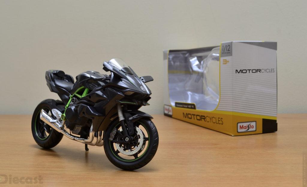 Maisto 1:12 Kawasaki Ninja H2R - Unboxed