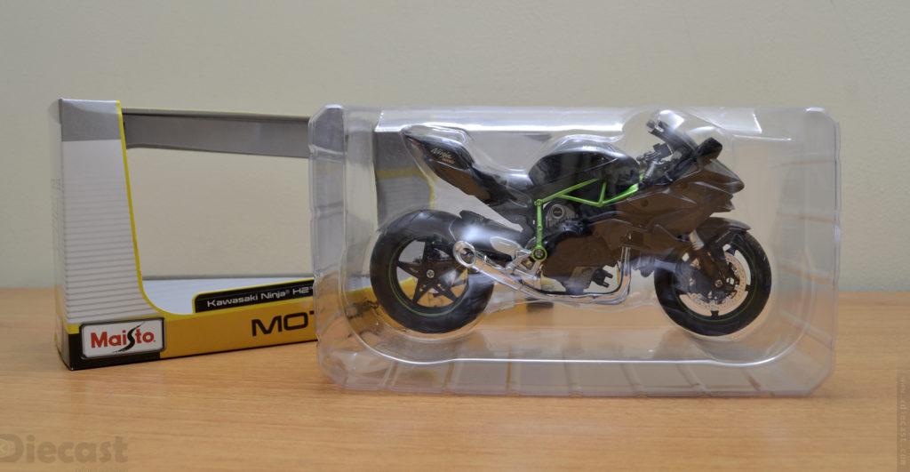 Maisto 1:12 Kawasaki Ninja H2R - Unboxing