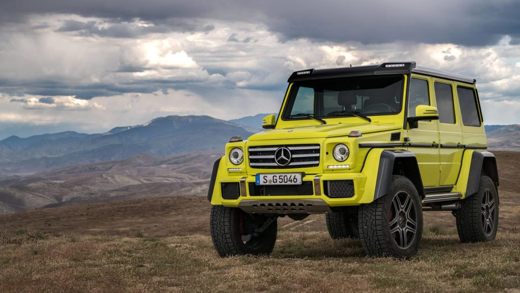 Almost Real Launches Mercedes Benz G500 4×4 Squared in 1:18 scale