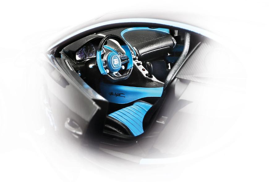 1:18 Bburago Bugatti Chiron 42 Series - Interior