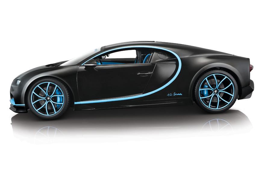 1:18 Bburago Bugatti Chiron 42 Series - Profile
