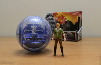 Mattel Jurassic World Gyrosphere & Claire Figure – Unboxed