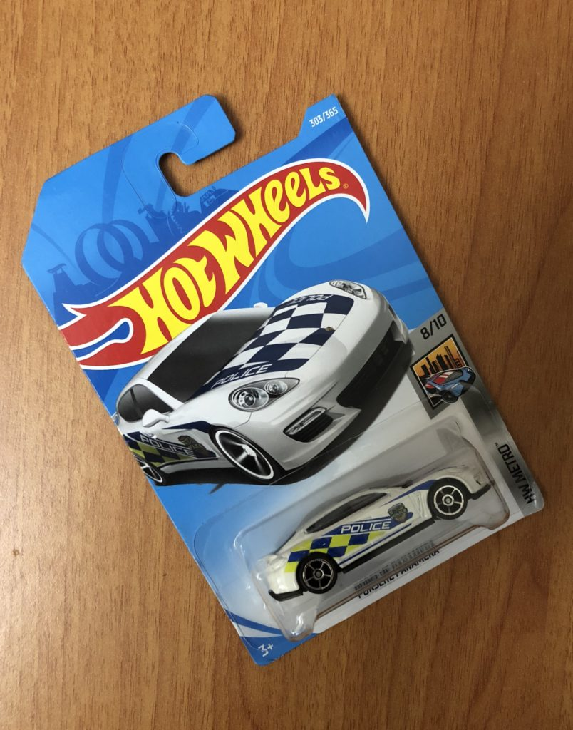 Hotwheels Porsche Panamera Police