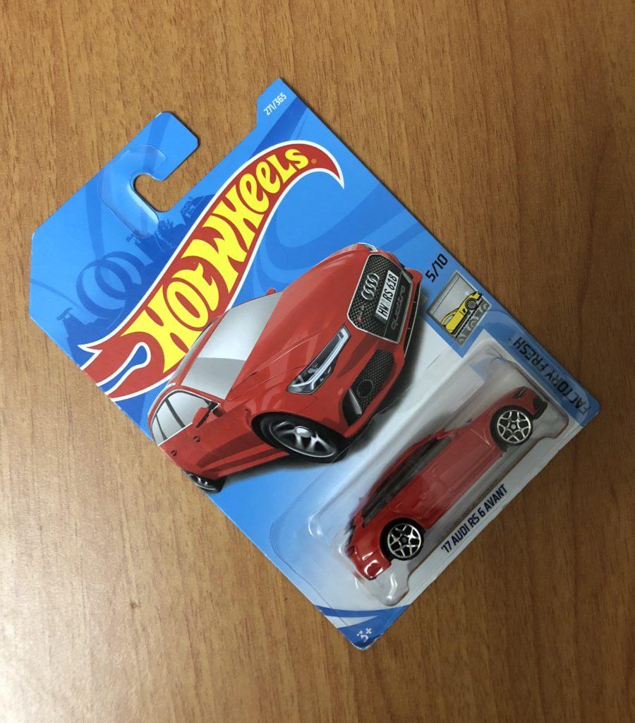 Hotwheels Audi RS6 Avant 2017