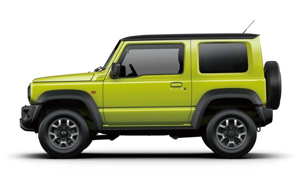 Suzuki Jimmy 2019 - Profile