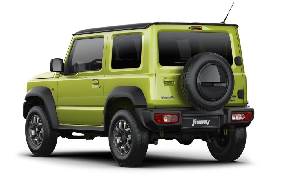 Suzuki Jimmy 2019 - Rear