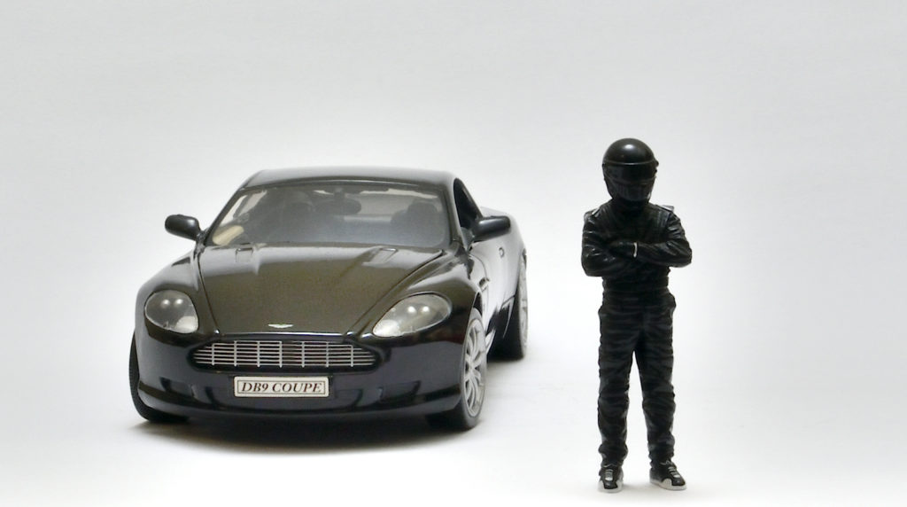 Black Friday Shopping - Welly Aston Martin DB9 - Stig