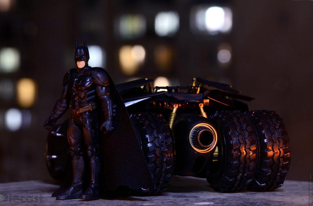 Batman's Valentine - Tumbler