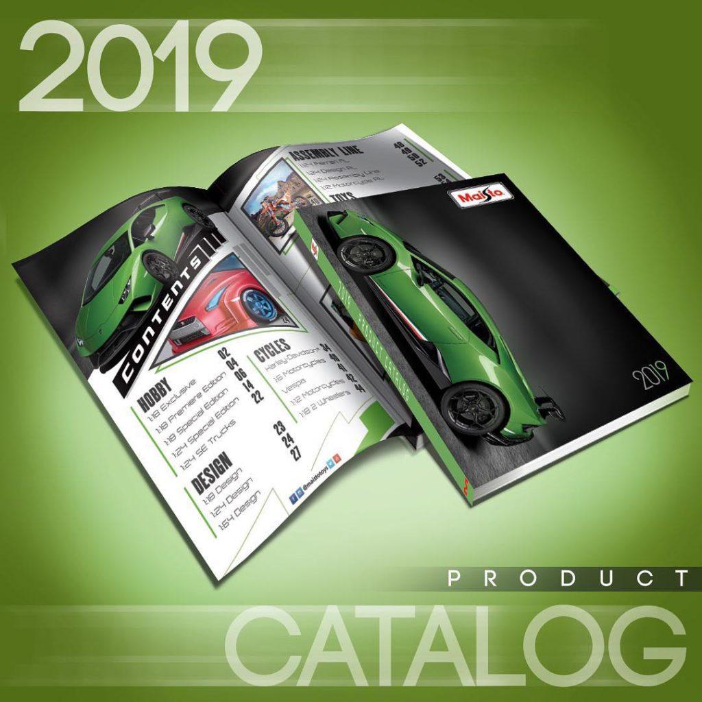 2019 Maisto Catalog
