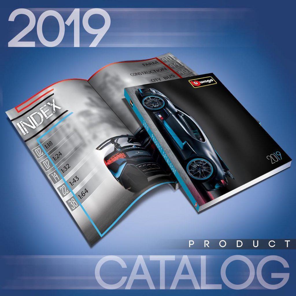 Bburago 2019 - Catalog