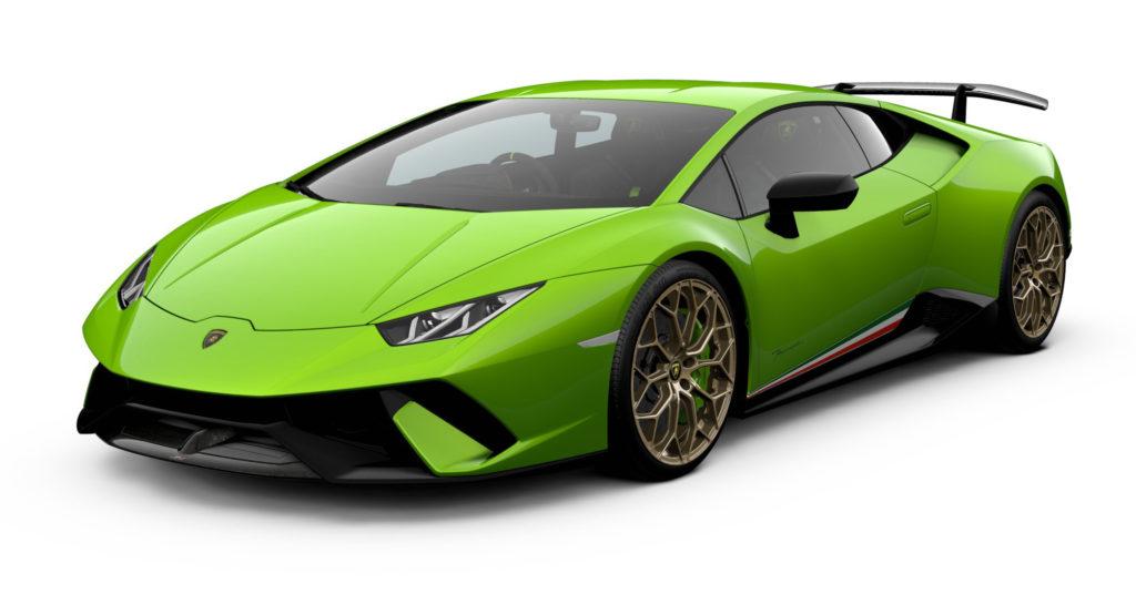 Lamborghini Huracan Performante Verde Mantis - 2019
