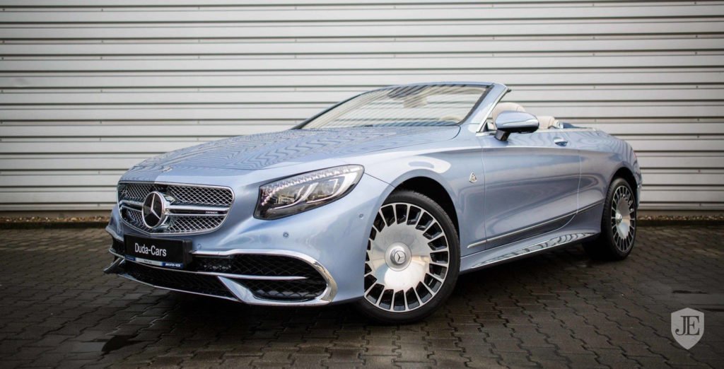 Norev's 2018 Mercedes Maybach S650 Cabriolet in Blue Launched