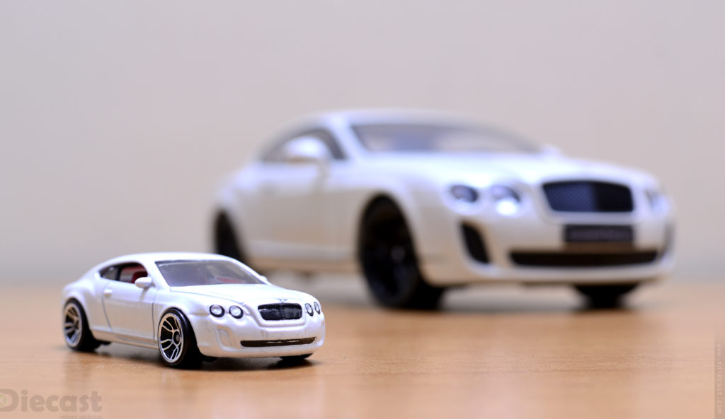 Toy Photography Scale Wars - Bentley Continental GT