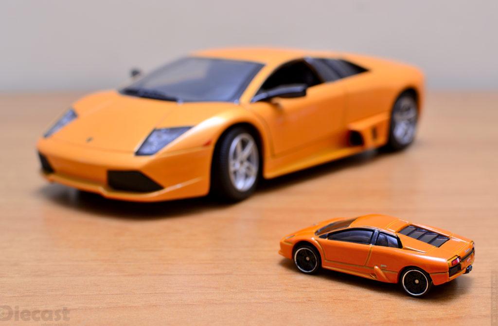 Toy Photography Scale Wars - Lamborghini Murcielago