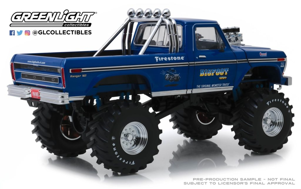 Greenlight Collectibles 1974 Ford F- 250 Bigfoot Monster Truck