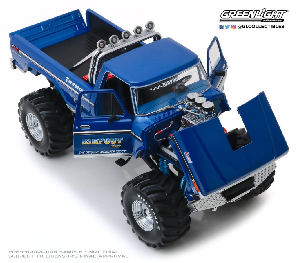 1:18 Greenlight Collectibles Bigfoot Monster Truck