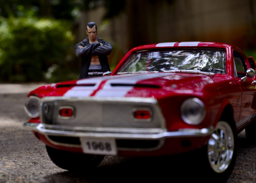 Toy Photography with Torazame Kinjirou and 1968 Mustang Shelby GT500