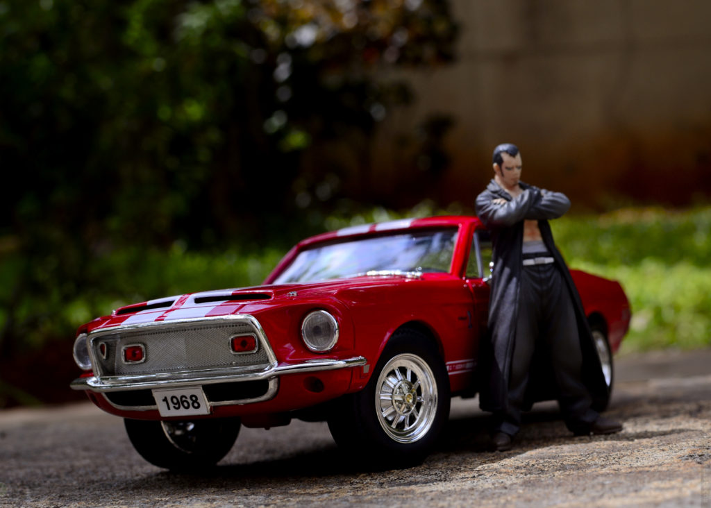 1968 Mustang Shelby GT500 - Toy Photography