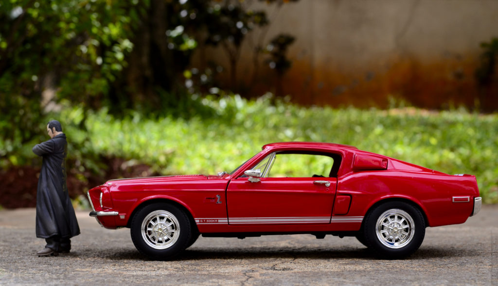 1968 Mustang Shelby GT500 - Profile