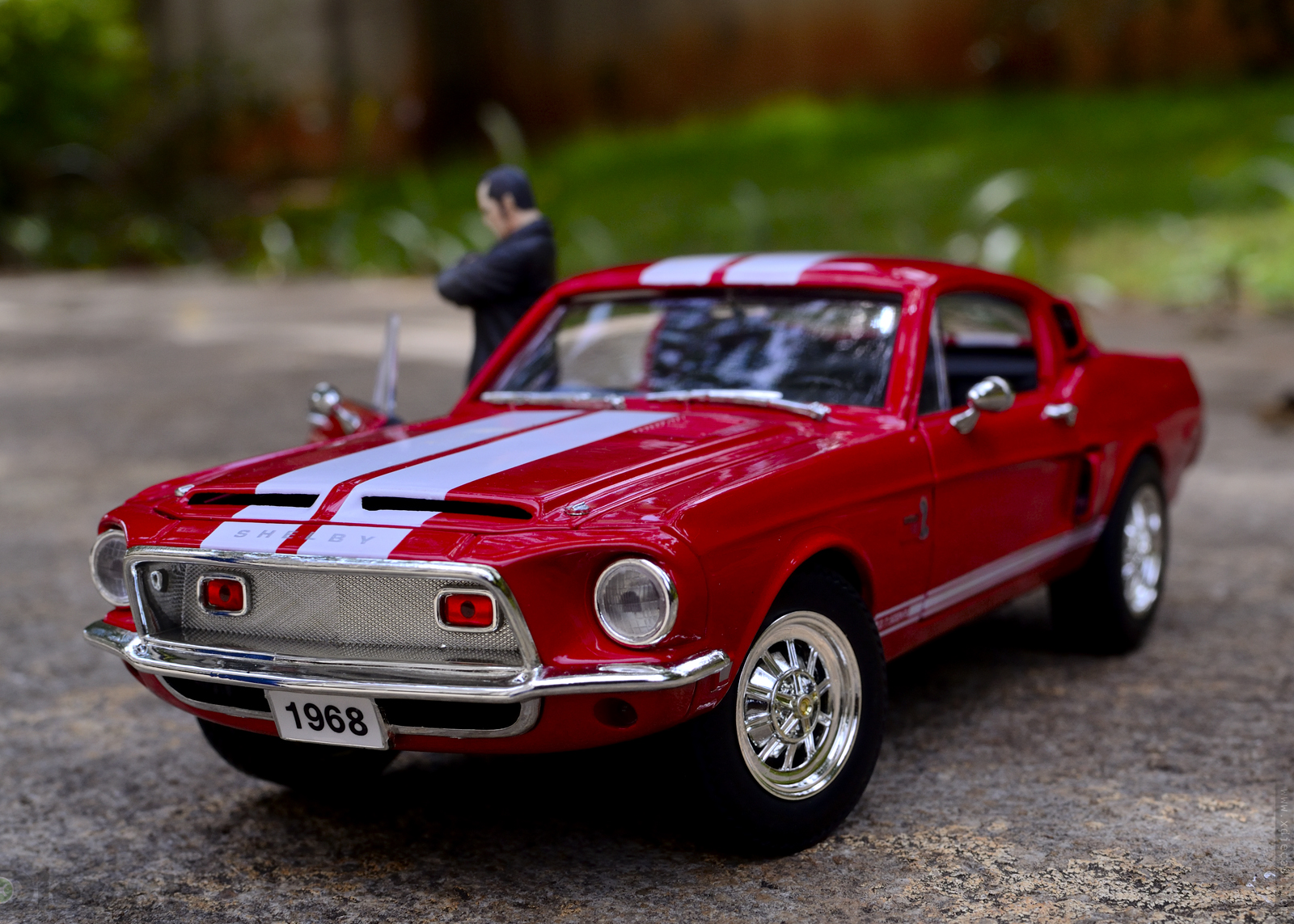 Weekend Toys Photography With 1968 Mustang Shelby Gt500 Xdiecast