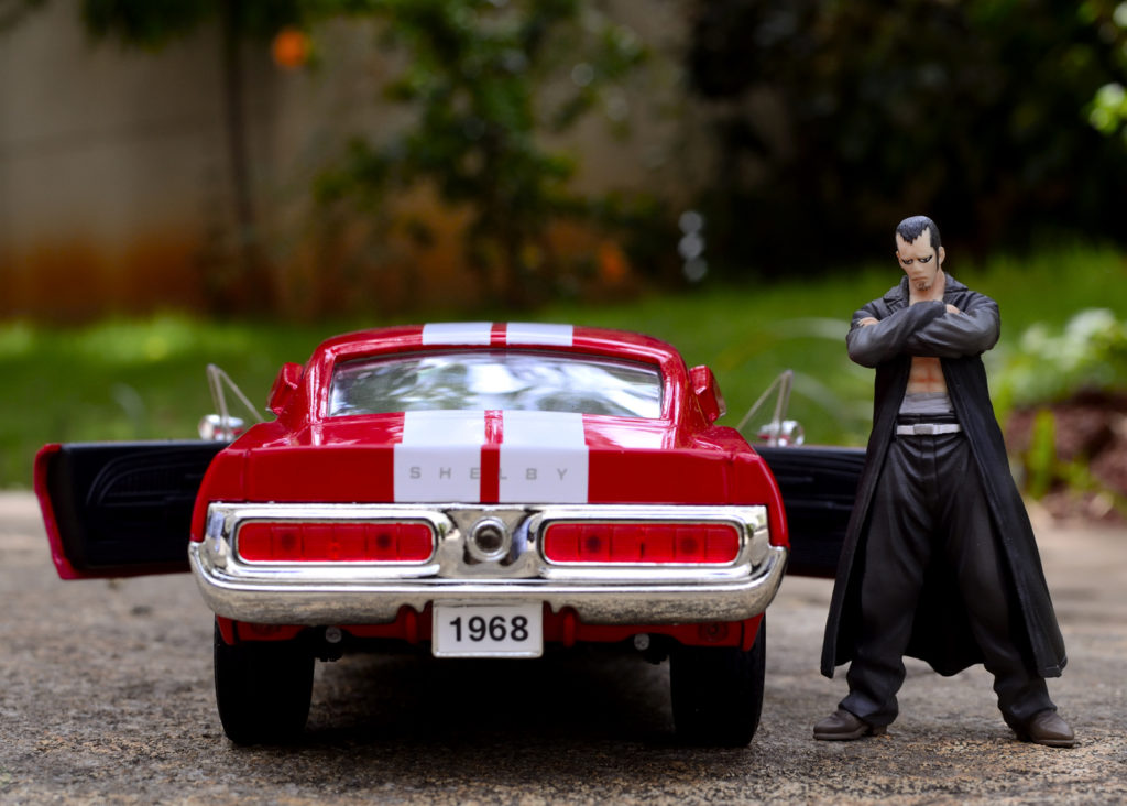 1968 Mustang Shelby GT500 - Doors - Toy Photography