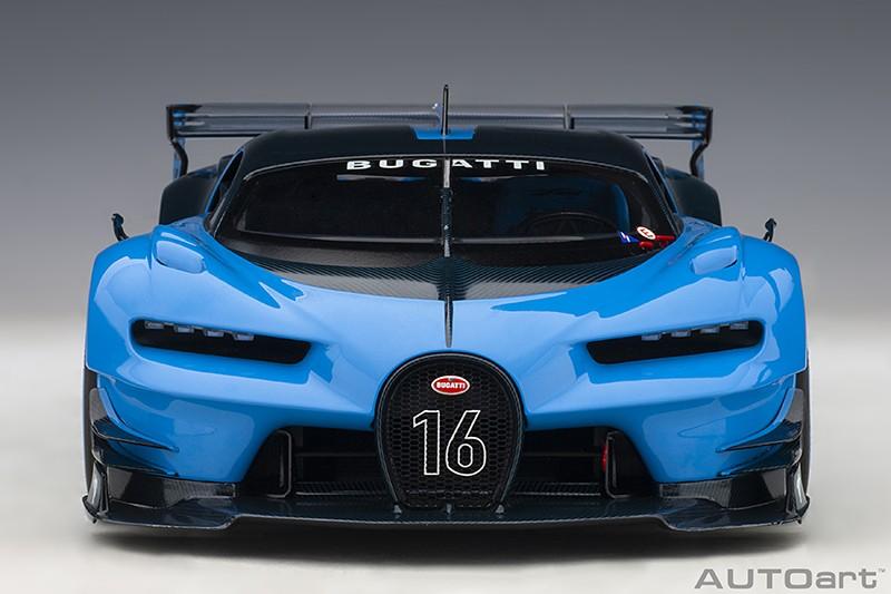 Bugatti Vision Gran Turismo Concept - Blue Front