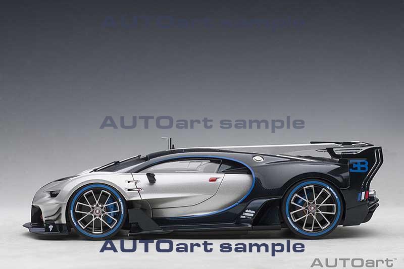 Bugatti Vision Gran Turismo Concept - Silver Profile