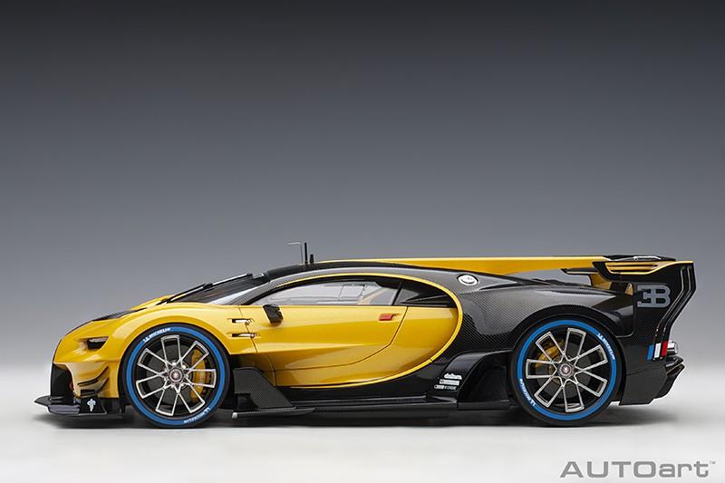Bugatti Vision Gran Turismo Concept - Yellow Profile