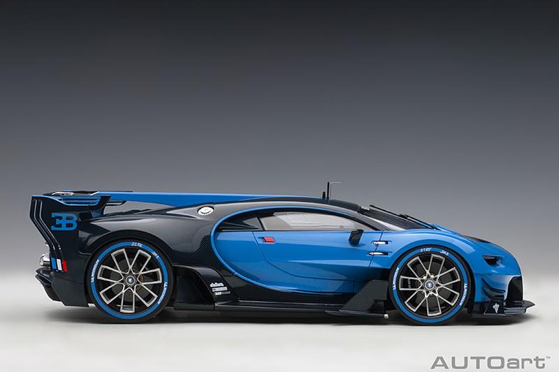 Bugatti Vision Gran Turismo Concept - Blue Profile