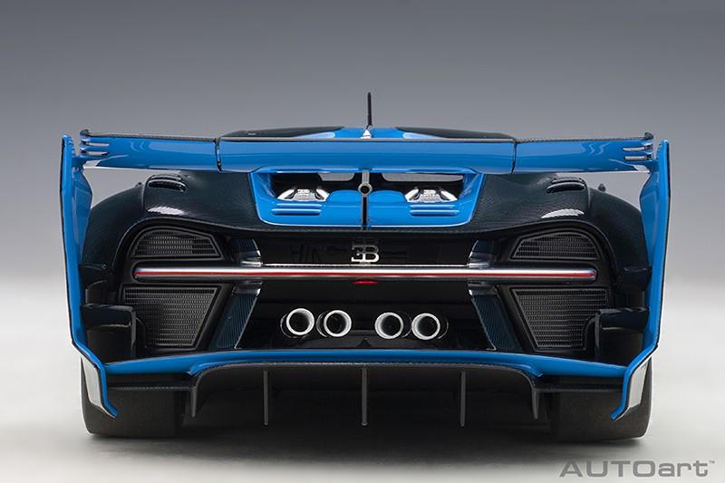 Bugatti Vision Gran Turismo Concept - Blue Rear