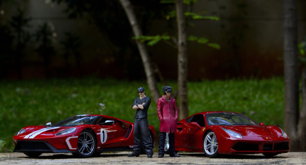 Ford vs Ferrari - Toy Photoshoot