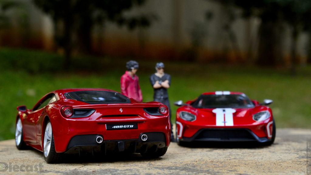 Ford vs Ferrari – Weekend Diecast Photography Meet